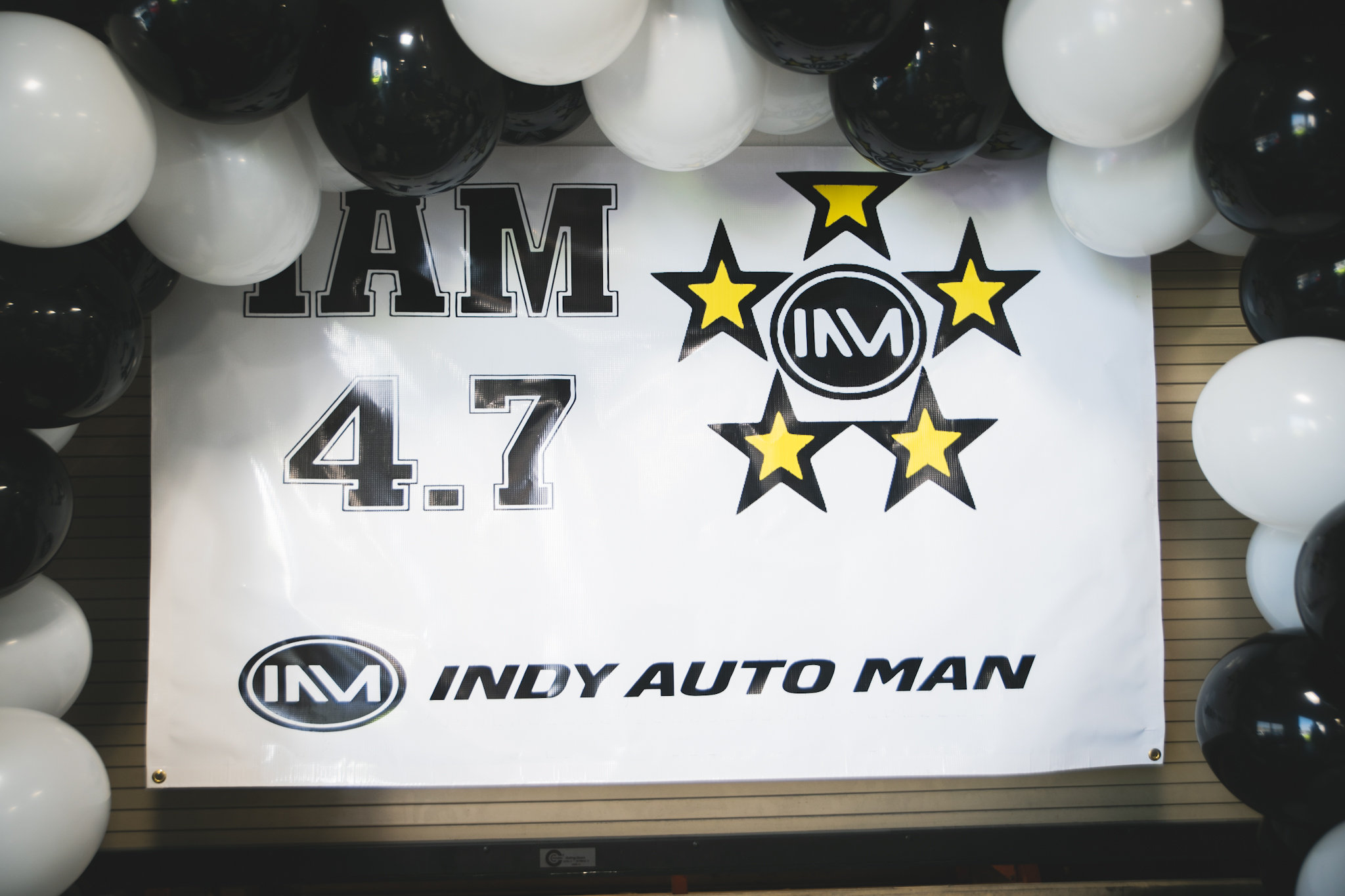 Indy Auto Man 4.7 Google Review Party - first image