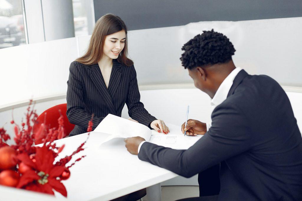 people paperwork business