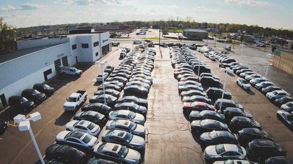 Indy Auto Man dealership lot