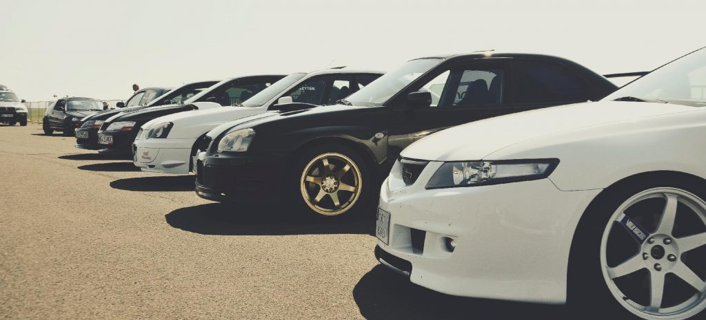 car lot with used sedans Indianapolis