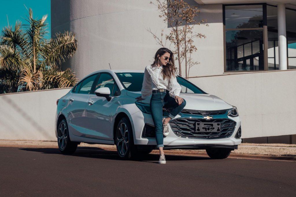 women, Chevrolet, car, Chevy