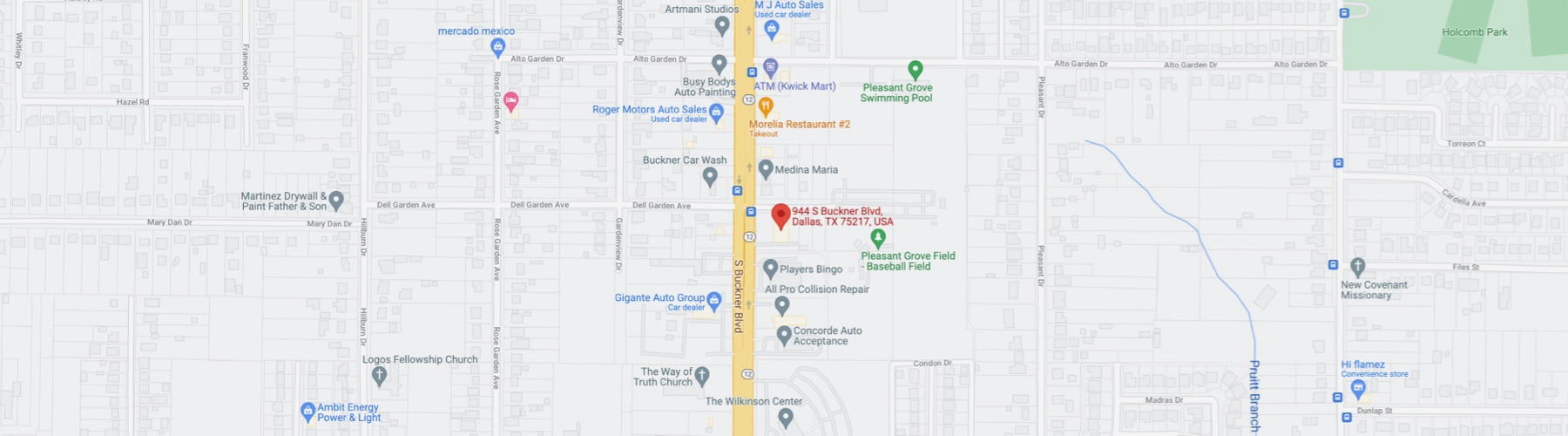 Map of Simple Auto Finance location