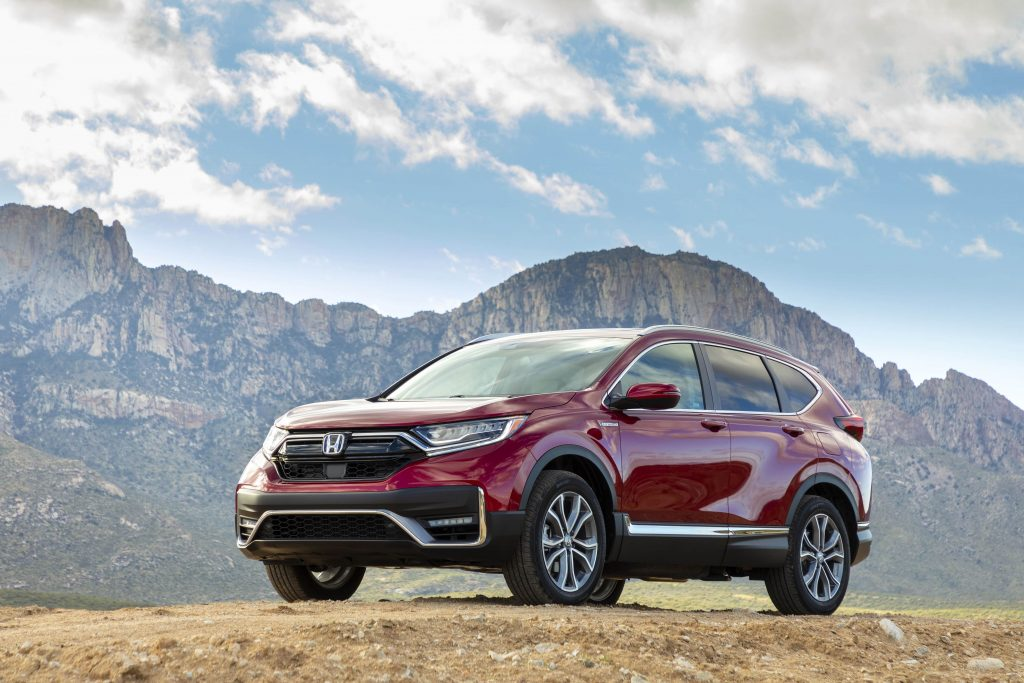 2020 Honda CR-V in Radiant Metallic Red